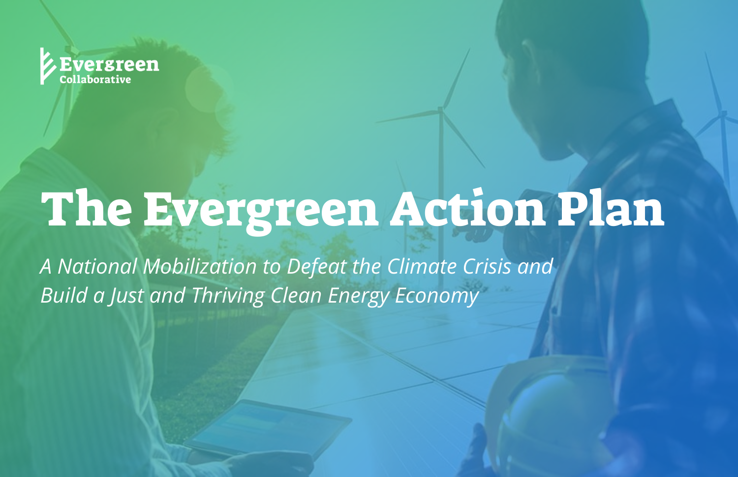 photo of The Evergreen Action Plan