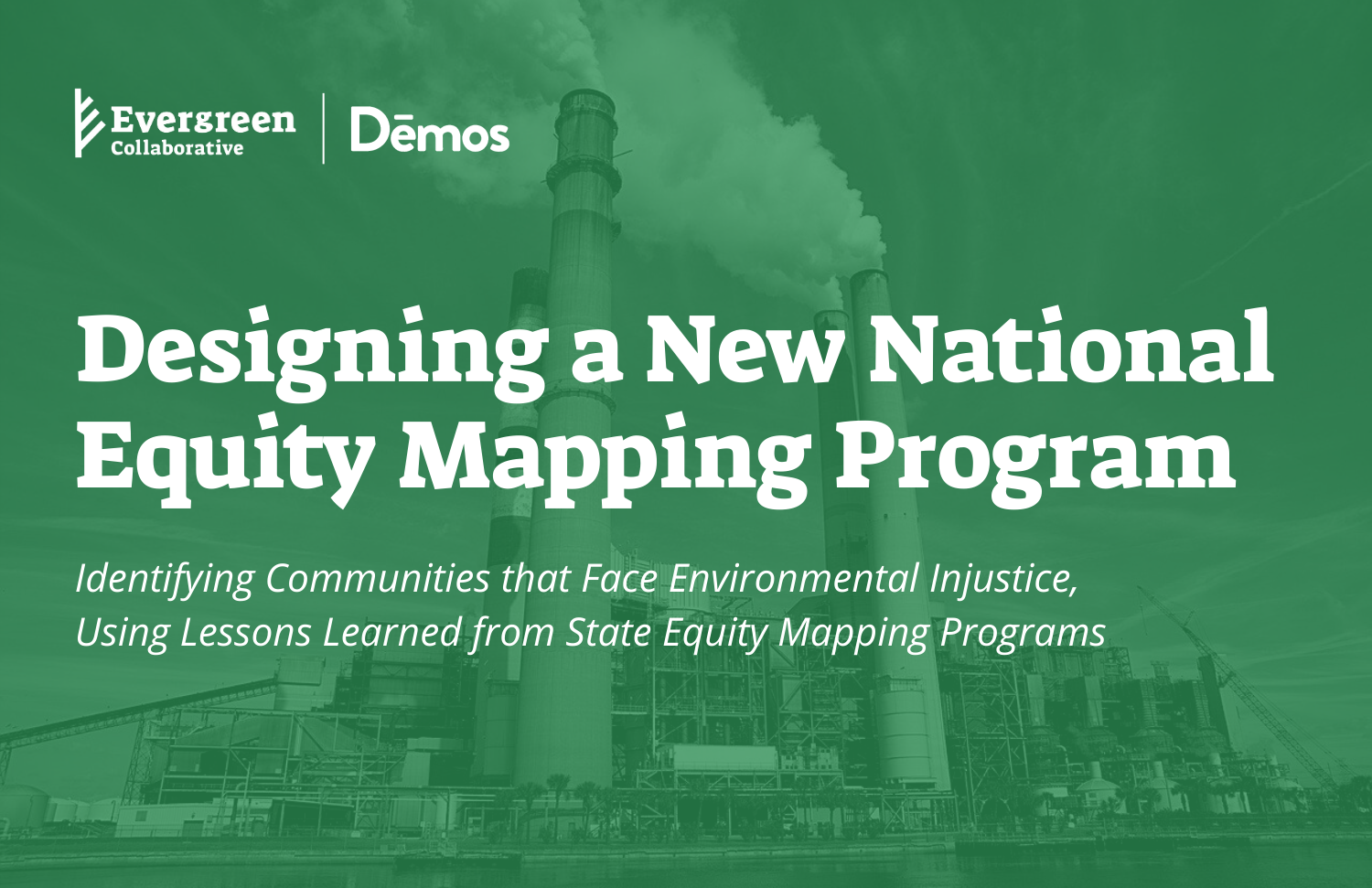 photo of Designing a New National Equity Mapping Program