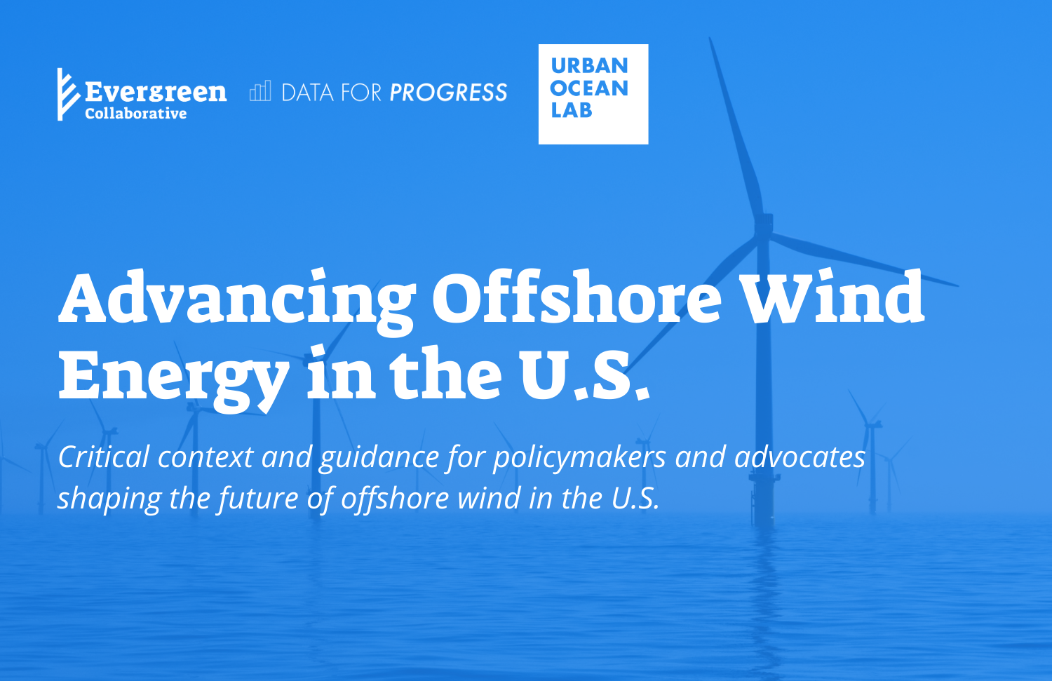 photo of  Advancing Offshore Wind Energy in the U.S.
